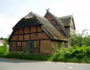 Torhaus Kotelow Nordgiebel im Jahr 2013