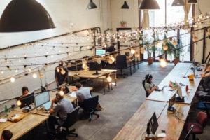 online-Coaching Torhaus Kotelow - Teamarbeit im Großraumbüro